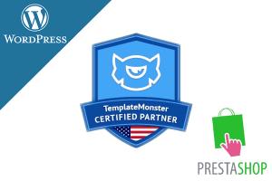 Snerdey is a Certified Partner of TemplateMonster.com